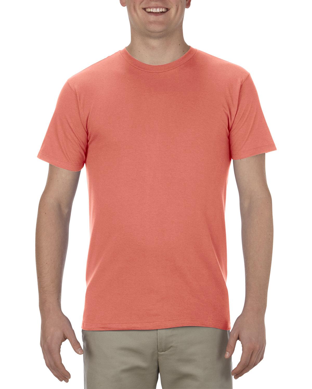 Alstyle Adult 4.3 oz., Ringspun Cotton T-Shirt CORAL