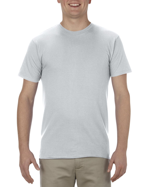Alstyle Adult 4.3 oz., Ringspun Cotton T-Shirt SILVER