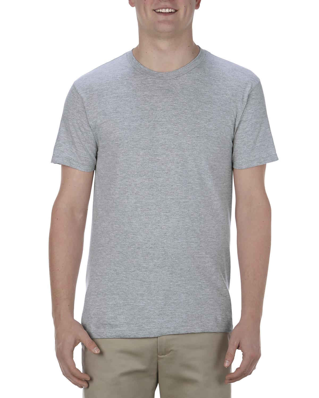 Alstyle Adult 4.3 oz., Ringspun Cotton T-Shirt ATHLETIC HEATHER