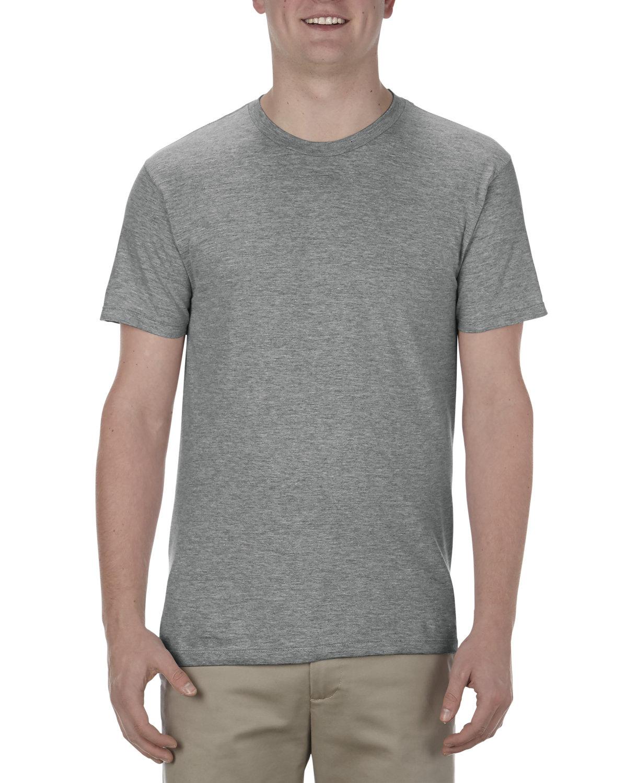 Alstyle Adult 4.3 oz., Ringspun Cotton T-Shirt GRAPHITE HEATHER
