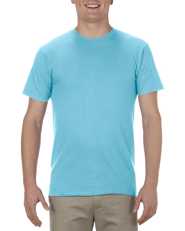 Alstyle Adult 4.3 oz., Ringspun Cotton T-Shirt PACIFIC BLUE