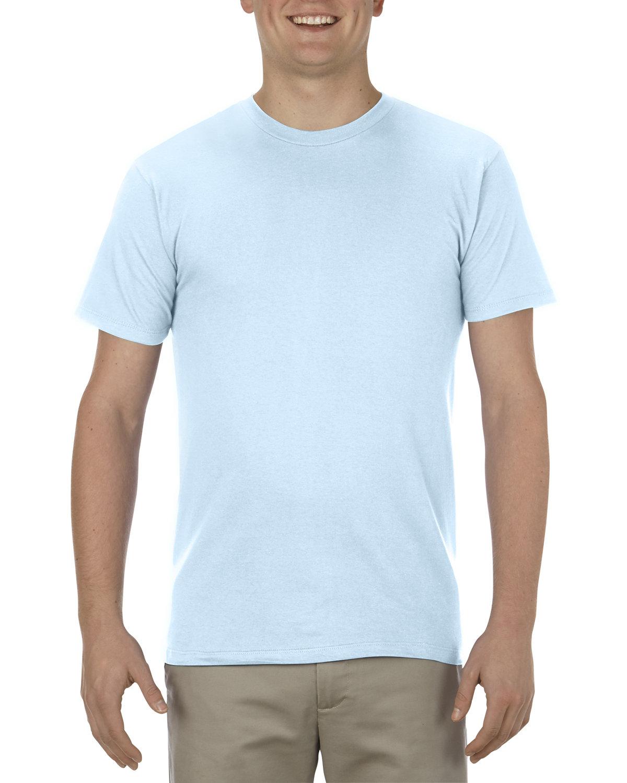 Alstyle Adult 4.3 oz., Ringspun Cotton T-Shirt POWDER BLUE