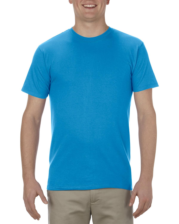 Alstyle Adult 4.3 oz., Ringspun Cotton T-Shirt TURQUOISE