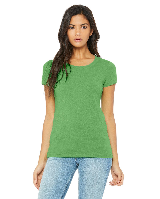 Bella + Canvas Ladies' Triblend Short-Sleeve T-Shirt GREEN TRBLND