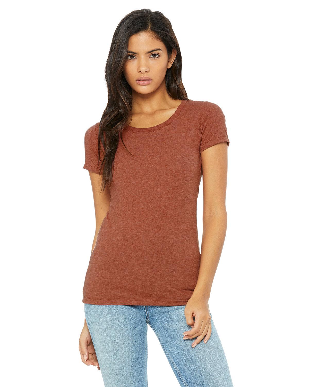 Bella + Canvas Ladies' Triblend Short-Sleeve T-Shirt CLAY TRIBLEND