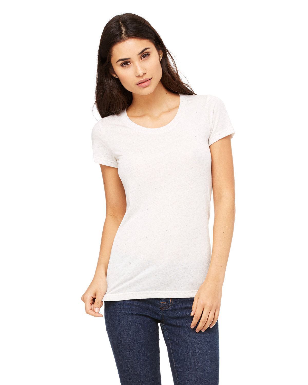 Bella + Canvas Ladies' Triblend Short-Sleeve T-Shirt OATMEAL TRIBLEND