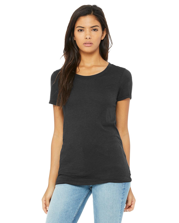 Bella + Canvas Ladies' Triblend Short-Sleeve T-Shirt SLD DK GRY TRBLN