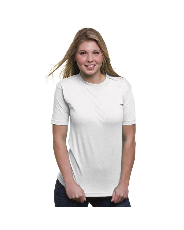 Bayside Adult 6.1 oz. 100% Cotton T-Shirt WHITE