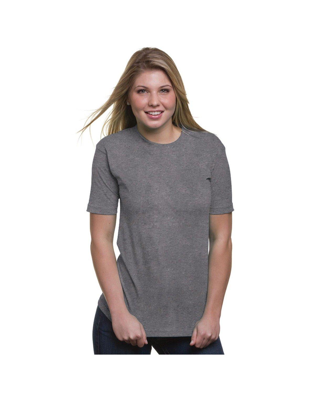 Bayside Adult 6.1 oz. 100% Cotton T-Shirt DARK ASH