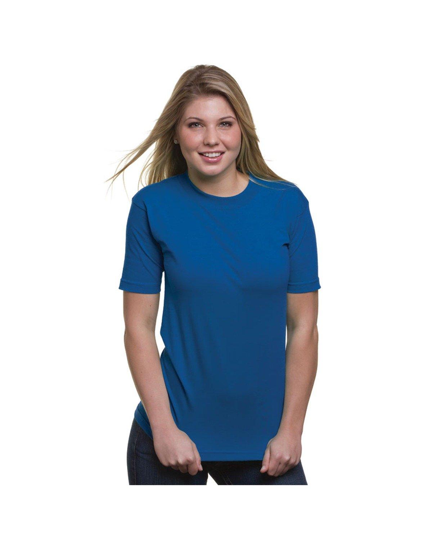 Bayside Adult 6.1 oz. 100% Cotton T-Shirt ROYAL