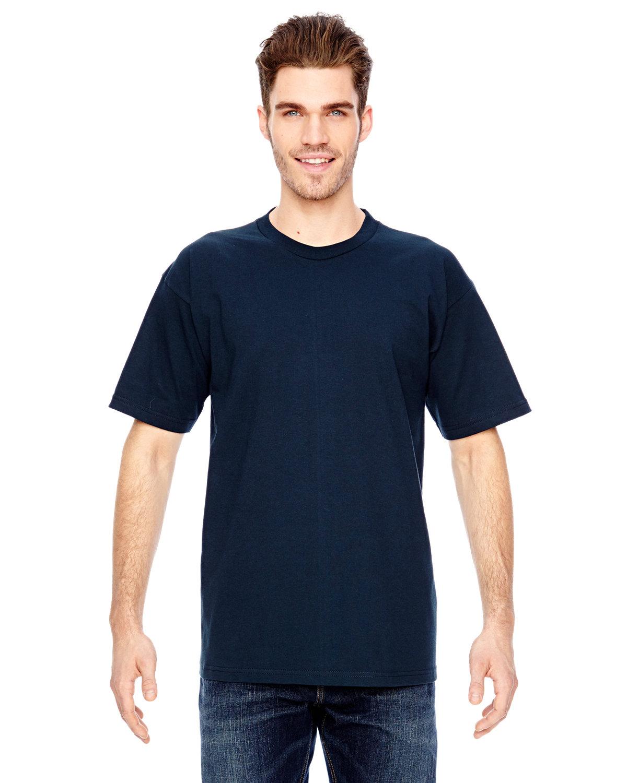 Bayside Adult 6.1 oz. 100% Cotton T-Shirt NAVY