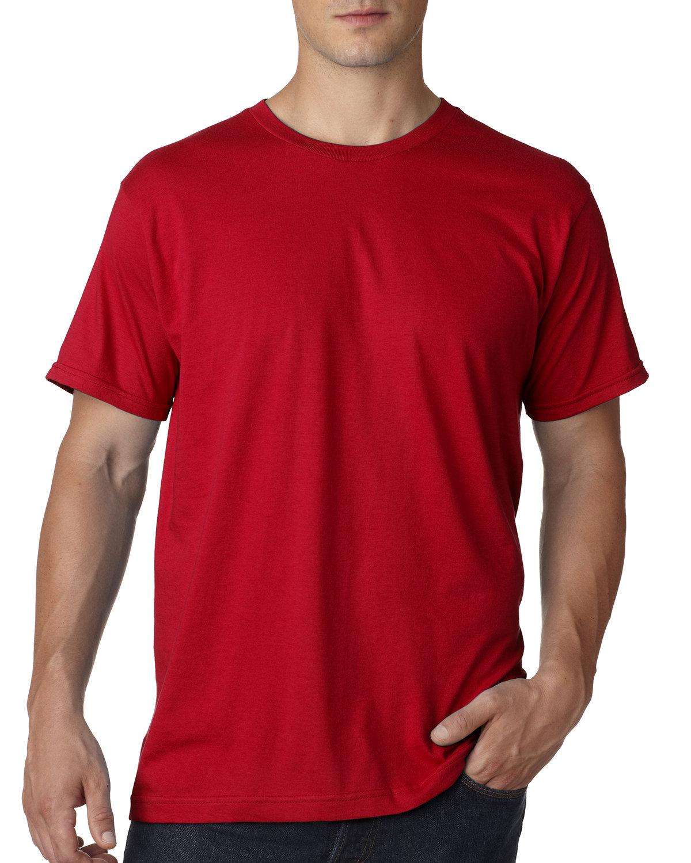 Bayside Adult Ring-Spun Jersey Tee RED