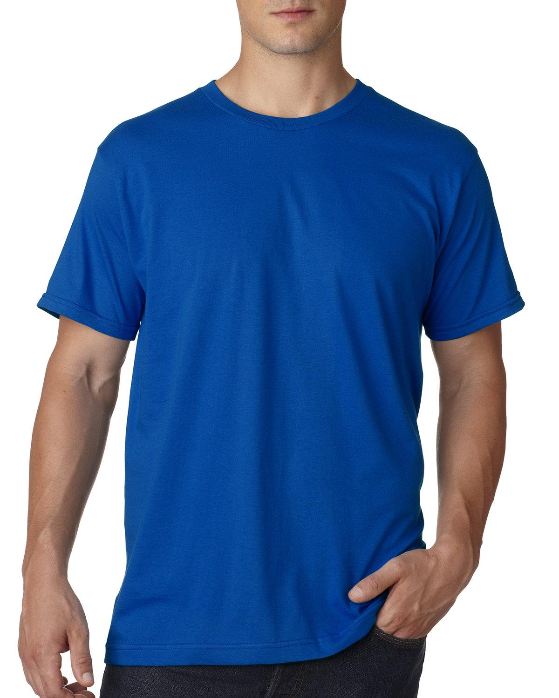 Bayside Adult Ring-Spun Jersey Tee ROYAL BLUE