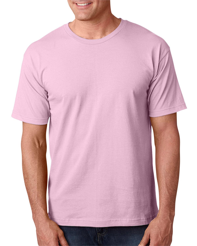 Bayside Adult 5.4 oz., 100% Cotton T-Shirt PINK