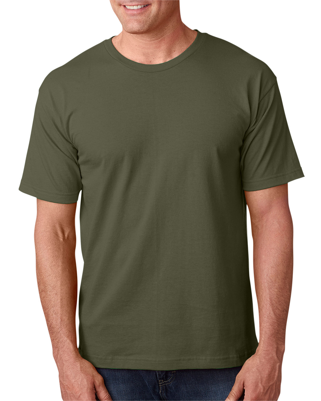 Bayside Adult 5.4 oz., 100% Cotton T-Shirt OLIVE