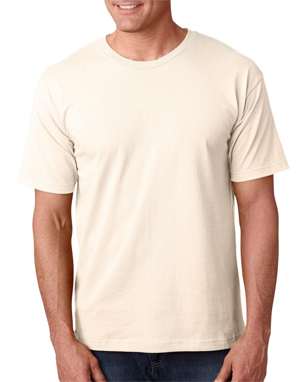 Bayside Adult 5.4 oz., 100% Cotton T-Shirt NATURAL