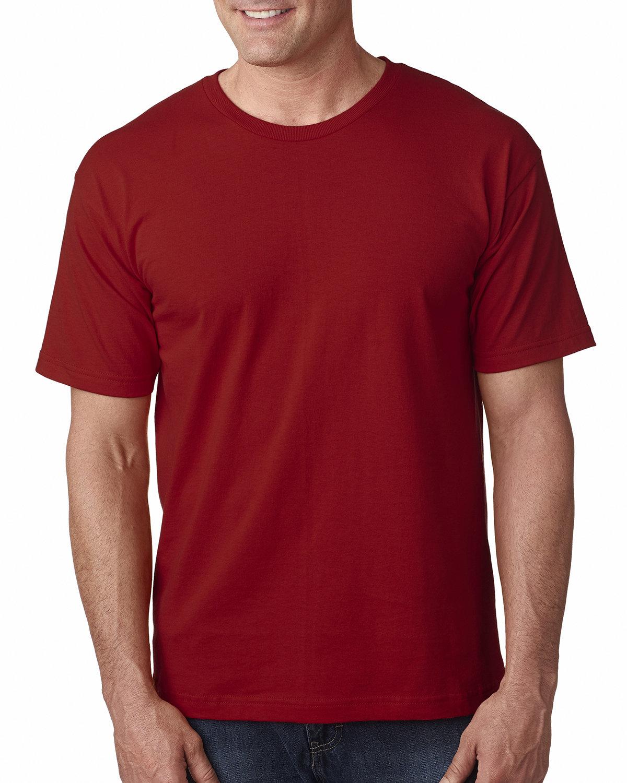 Bayside Adult 5.4 oz., 100% Cotton T-Shirt CARDINAL