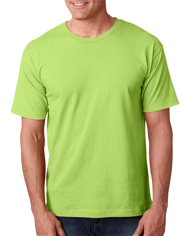 Bayside Adult 5.4 oz., 100% Cotton T-Shirt LIME