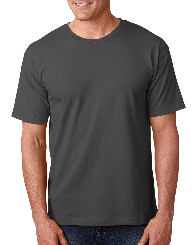 Bayside Adult 5.4 oz., 100% Cotton T-Shirt CHARCOAL