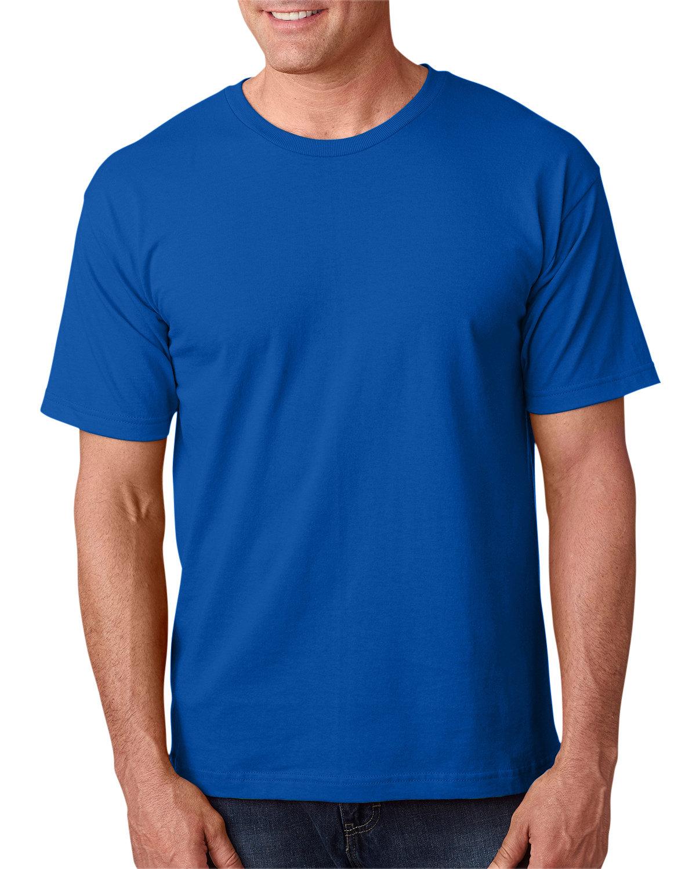 Bayside Adult 5.4 oz., 100% Cotton T-Shirt ROYAL