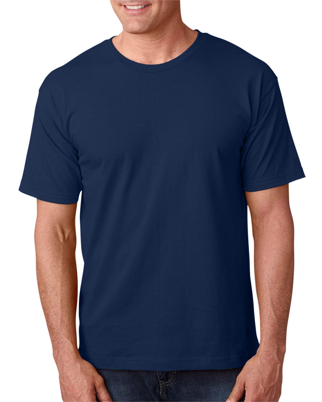 Bayside Adult 5.4 oz., 100% Cotton T-Shirt LIGHT NAVY