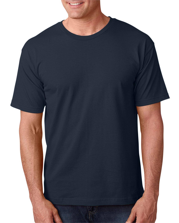 Bayside Adult 5.4 oz., 100% Cotton T-Shirt DARK NAVY