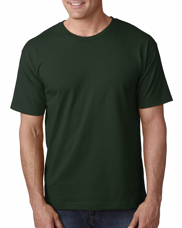 Bayside Adult 5.4 oz., 100% Cotton T-Shirt HUNTER GREEN