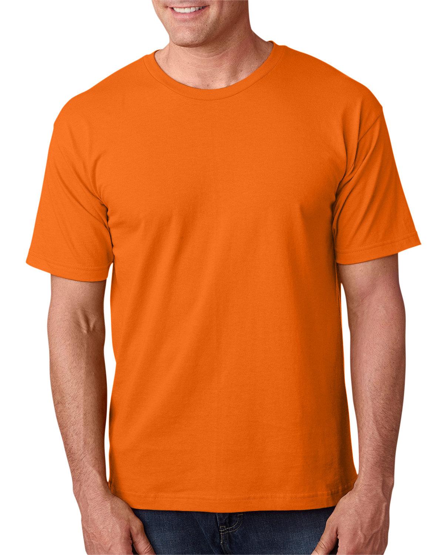 Bayside Adult 5.4 oz., 100% Cotton T-Shirt BRIGHT ORANGE
