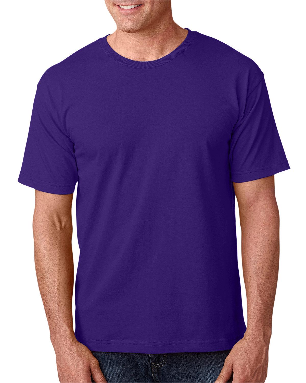 Bayside Adult 5.4 oz., 100% Cotton T-Shirt PURPLE