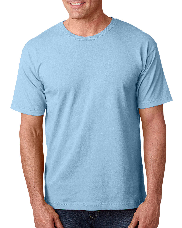 Bayside Adult 5.4 oz., 100% Cotton T-Shirt LIGHT BLUE