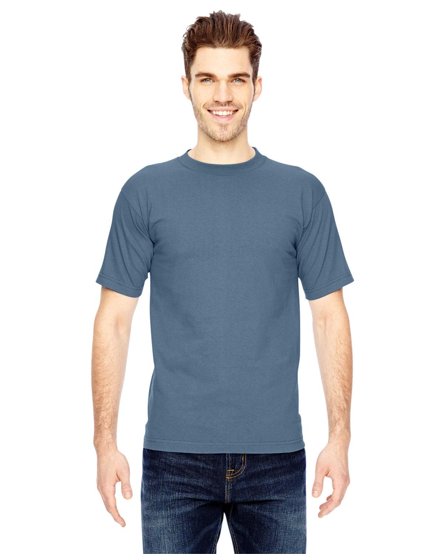 Bayside Adult 6.1 oz., 100% Cotton T-Shirt DENIM