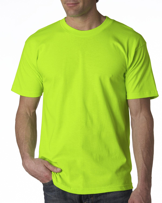 Bayside Adult 6.1 oz., 100% Cotton T-Shirt LIME GREEN