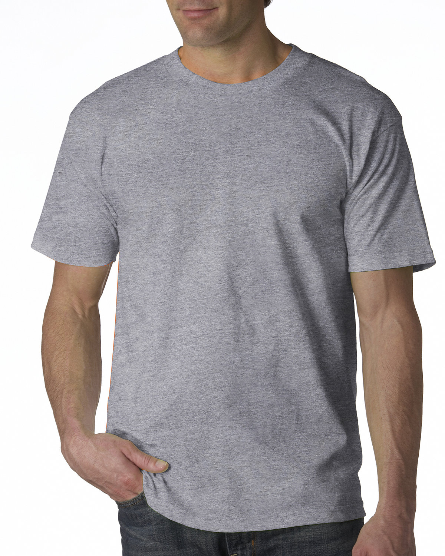 Bayside Adult 6.1 oz., 100% Cotton T-Shirt DARK ASH