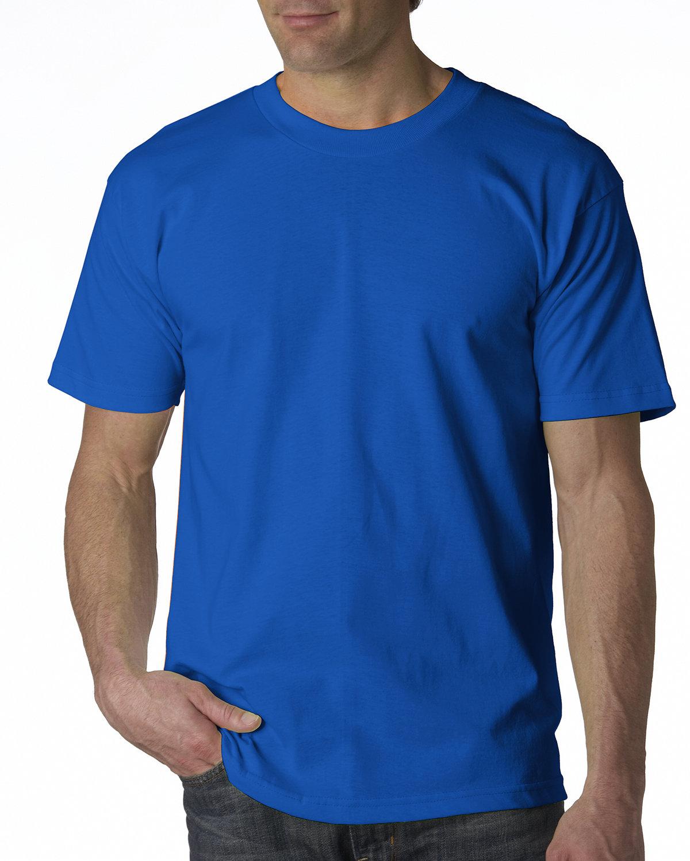 Bayside Adult 6.1 oz., 100% Cotton T-Shirt ROYAL