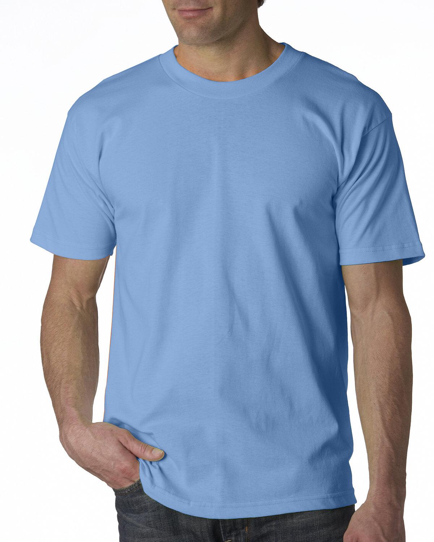 Bayside Adult 6.1 oz., 100% Cotton T-Shirt CAROLINA BLUE