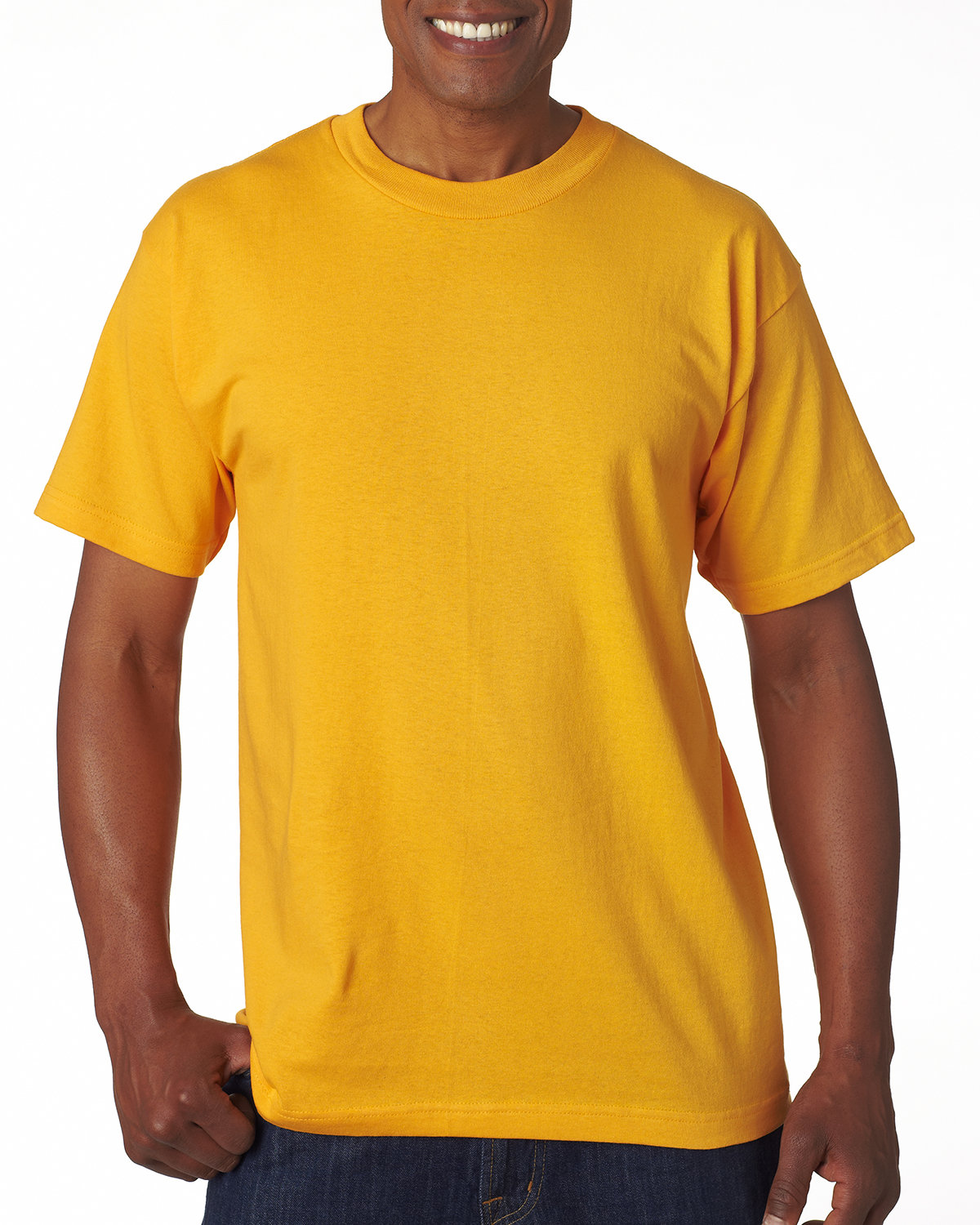 Bayside Adult 6.1 oz., 100% Cotton T-Shirt GOLD