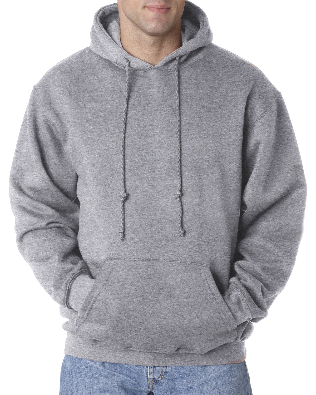 Bayside Adult 9.5 oz., 80/20 Pullover Hooded Sweatshirt DARK ASH