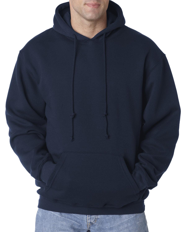 Bayside Adult 9.5 oz., 80/20 Pullover Hooded Sweatshirt NAVY