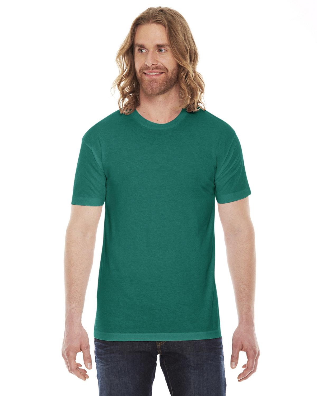 American Apparel Unisex Poly-Cotton Short-Sleeve Crewneck EVERGREEN