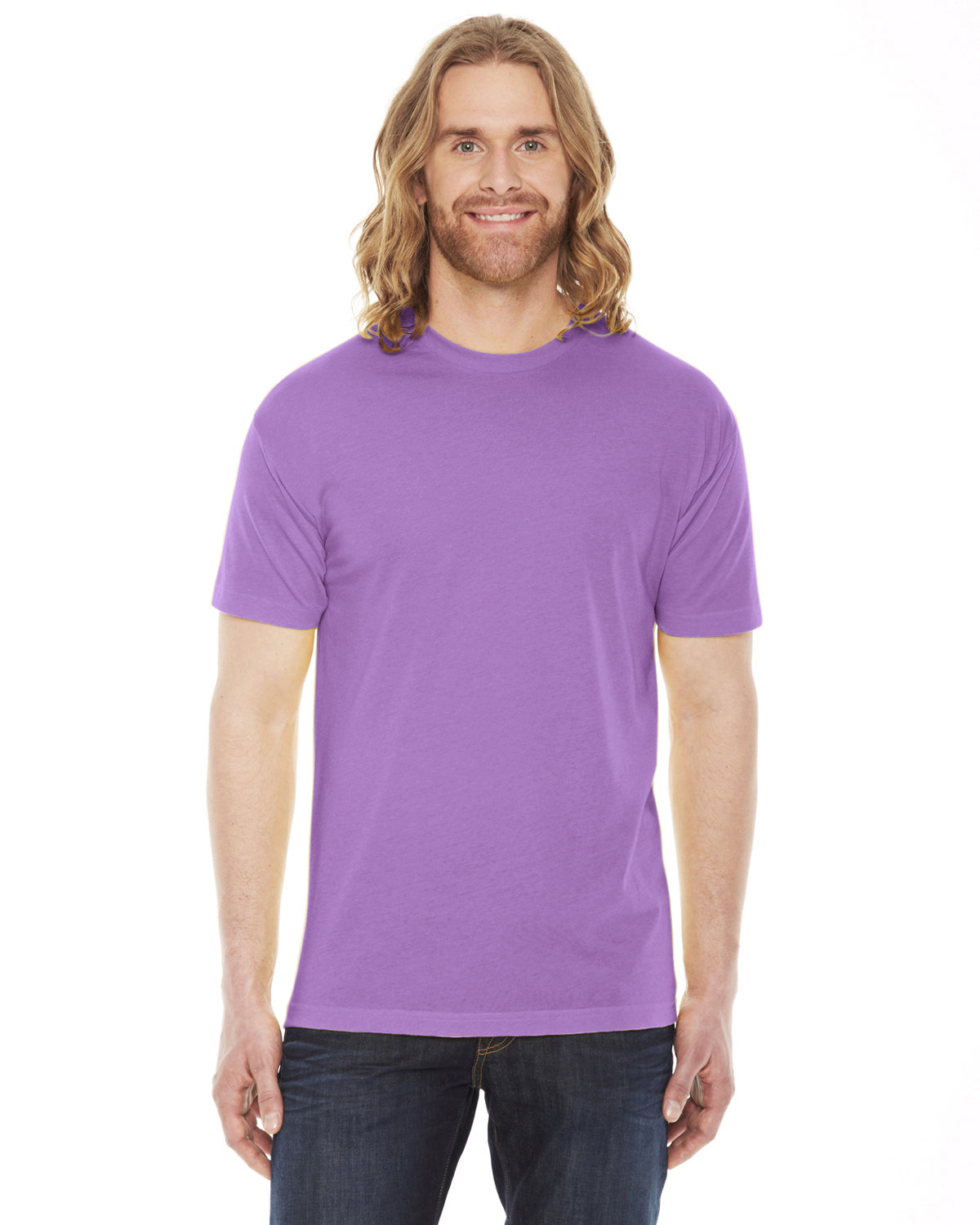 American Apparel Unisex Classic T-Shirt ORCHID
