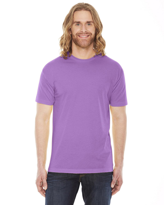 American Apparel Unisex Poly-Cotton Short-Sleeve Crewneck ORCHID