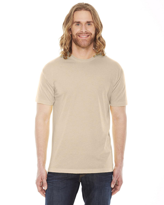 American Apparel Unisex Poly-Cotton Short-Sleeve Crewneck CREME