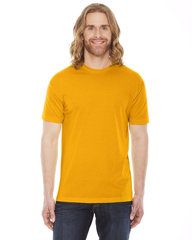 American Apparel Unisex Poly-Cotton Short-Sleeve Crewneck GOLD
