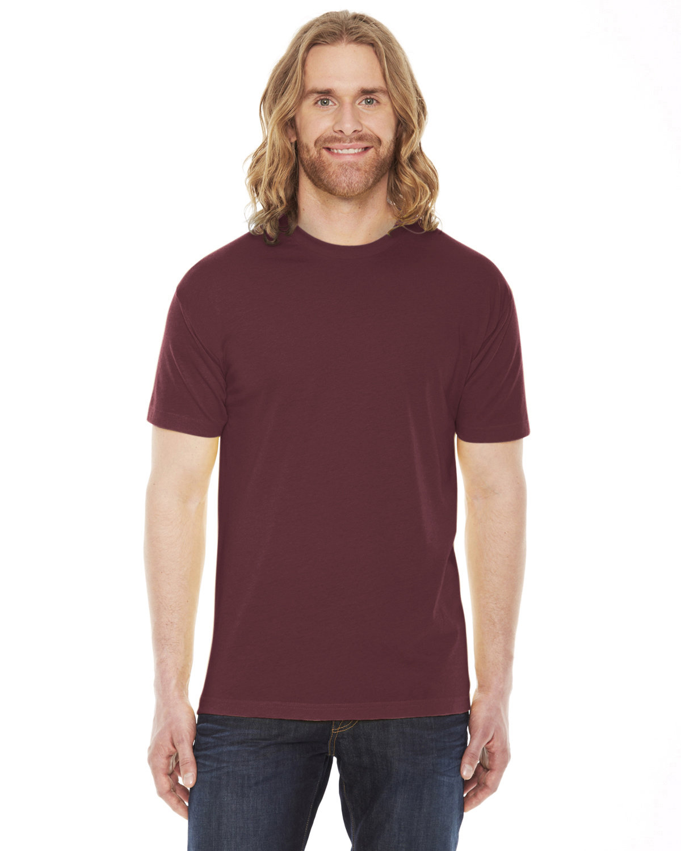 American Apparel Unisex Poly-Cotton Short-Sleeve Crewneck TRUFFLE
