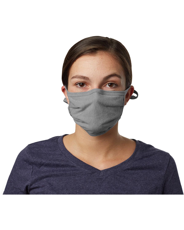 Hanes Adult 2-Ply Adjustable Mask CONCRETE