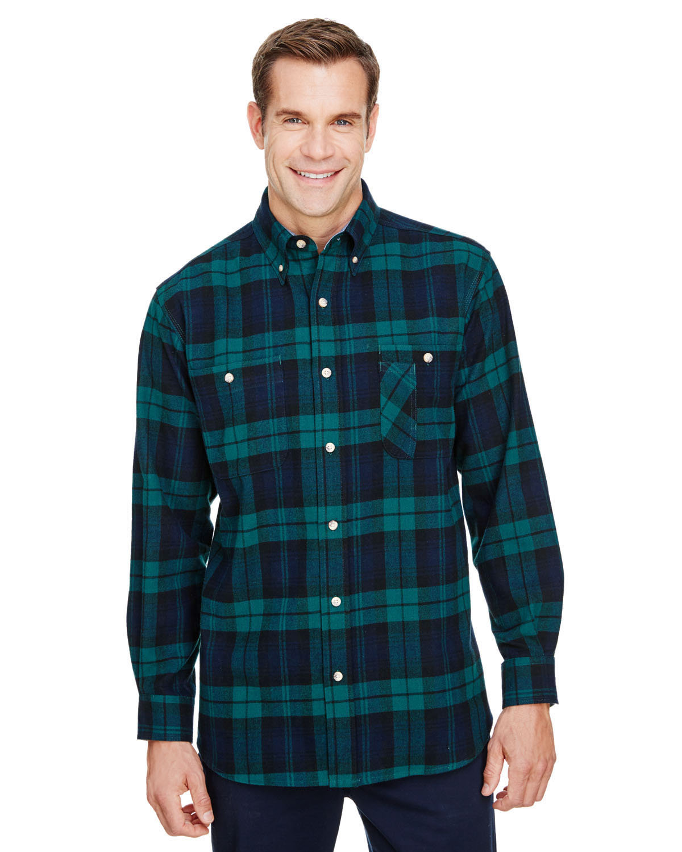 Backpacker Men's Tall Yarn-Dyed Flannel Shirt BLACK WATCH