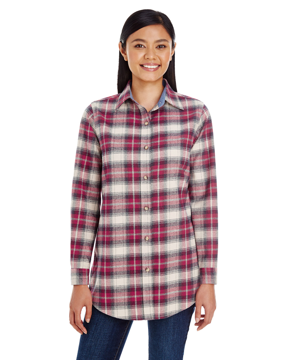 Backpacker Ladies' Yarn-Dyed Flannel Shirt INDEPENDENT