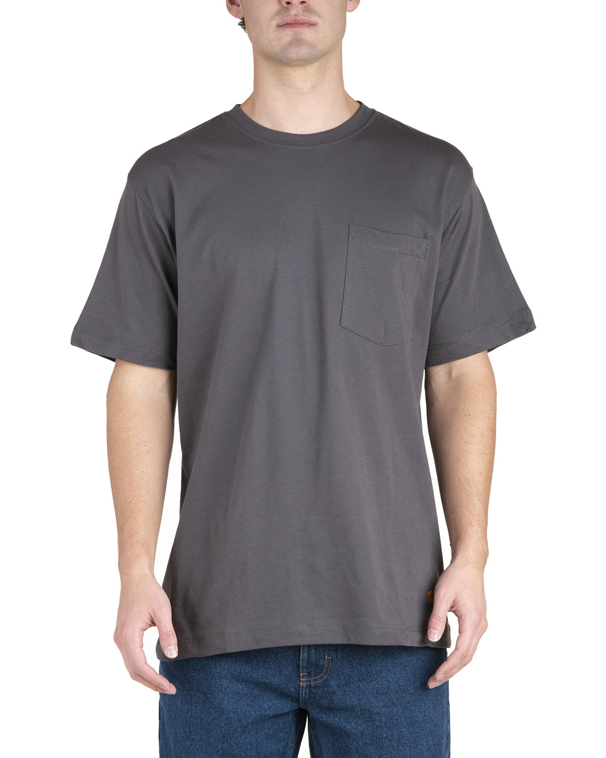 Berne Men's Lightweight Performance Pocket T-Shirt SLATE