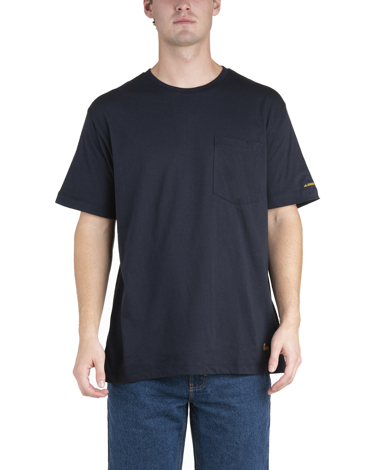 Berne Men's Lightweight Performance Pocket T-Shirt NAVY