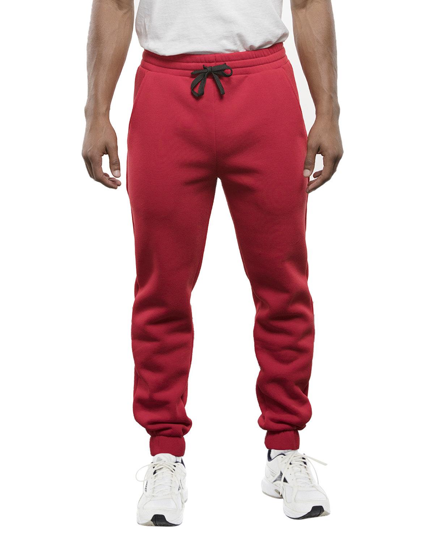 Burnside Adult Fleece Jogger Pant RED